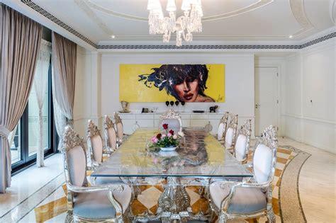 palazzo versace opulent waterfront penthouse  dubai