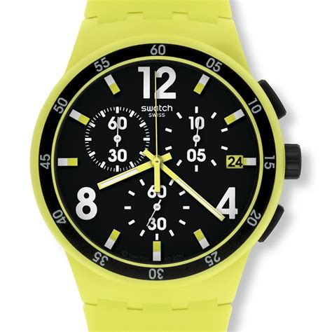 Swatch Chrono Plastik Original swatch watches new chrono plastic swatch limonata