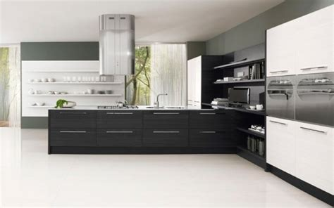 black and white kitchen cabinets black and white kitchen cabinets contrast design gives a