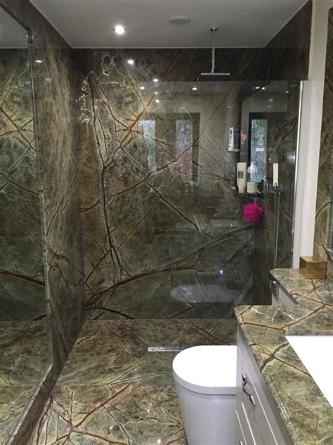 rainforest bathroom rainforest green marble bathroom