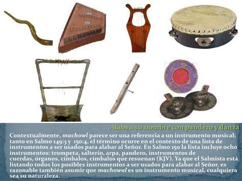 imagenes de instrumentos musicales hebreos tiempo de bailar