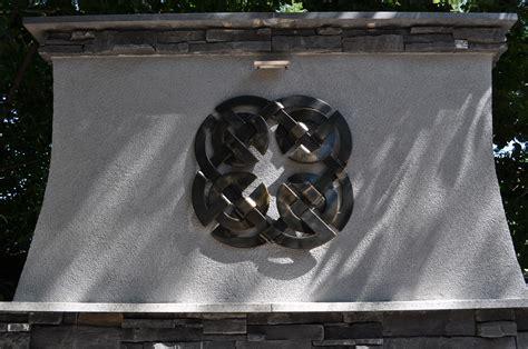 hand wrought iron celtic knot wrought iron art