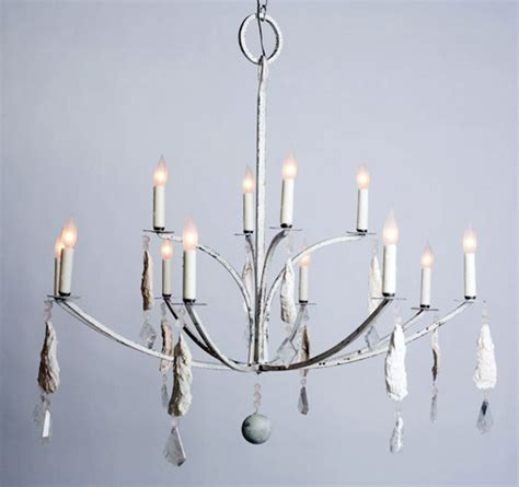 Hton Bay Chandelier Laurel Bay Shell And Chandelier Home