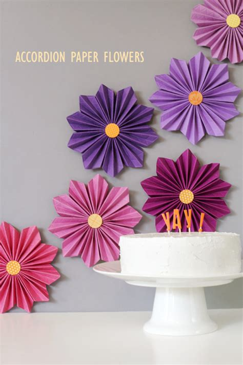 Flowers Using Paper - 40 pretty paper flower crafts tutorials ideas