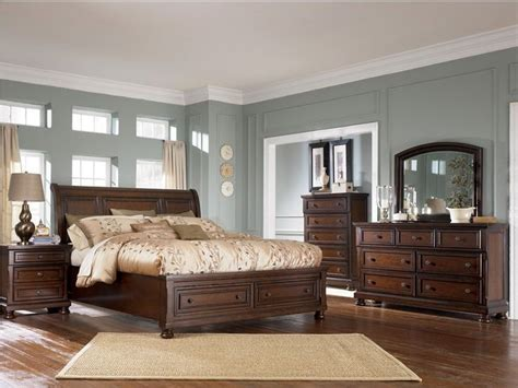 Light Colored Wood Bedroom Sets by Brown Wood Bedroom Furniture With Smokey Blue