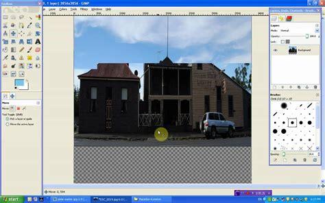 gimp tutorial panorama gimp tutorial polar panorama youtube
