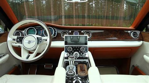 bentley exp 9 f interior bentley exp 9 f concept suv autoblog youtube