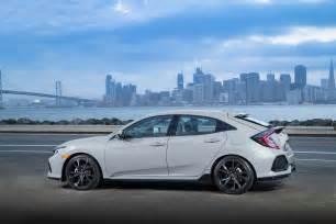 Honda Civic Hatchback 2017 Honda Civic Hatchback Sport Touring Rear Side Motor