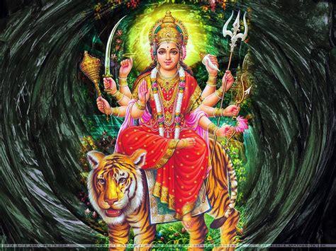 wallpapers for desktop maa durga maa durga hindu god wallpapers free download