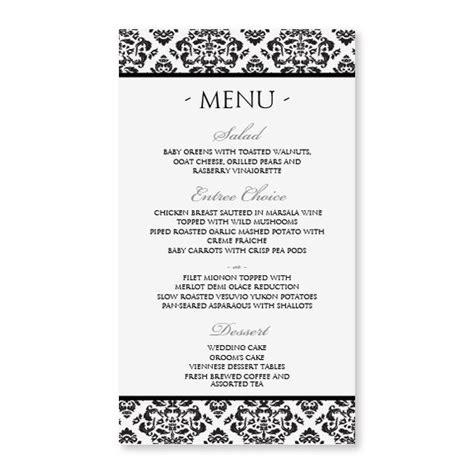 menu card template doc diy menu card template instant by diyweddingtemplates