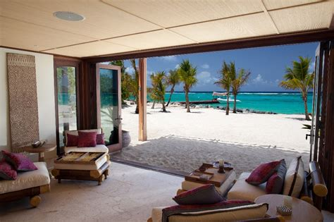 images of the new great house on necker island
