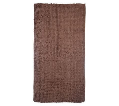 microfiber chenille rug microfiber chenille loop 24 quot x48 quot kitchen rug page 1 qvc