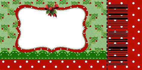 free printable christmas card with charming santa christmas ticket templates invitation template