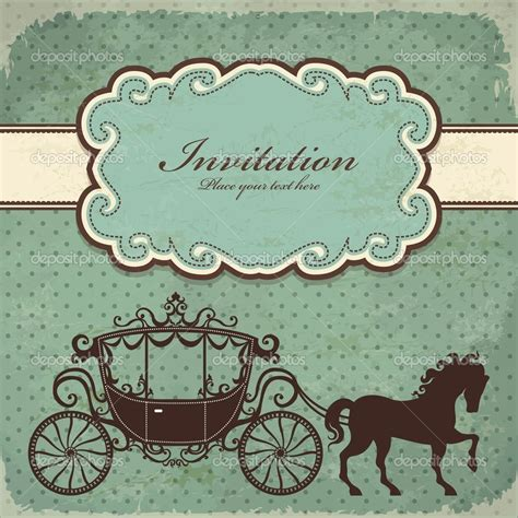 vintage st template vintage carriage frame template stock vector 169 donnay