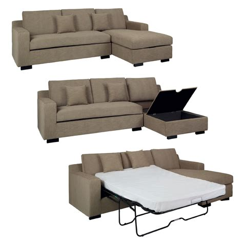Sectional Sleeper Sofa Bed by Click Clack Sofa Bed Sofa Chair Bed Modern Leather