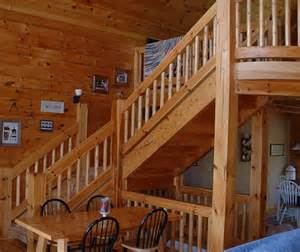 Round Staircase Designs Interior Loghouse Rustic Staircase Nashville By Llg
