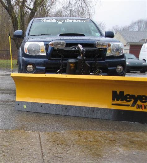 Snow Plow For Toyota Tacoma Meyer Drive Pro The Plow For Your Toyota