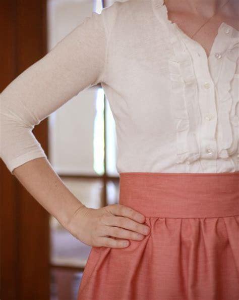 high waisted skirt sewing for skirt