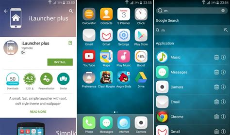 best ios launcher for android best iphone like launchers for android