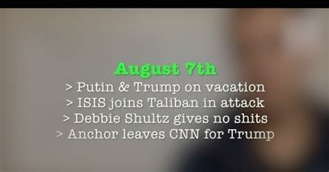 8.7 isis joins taliban, anchor leaves cnn for pro trump