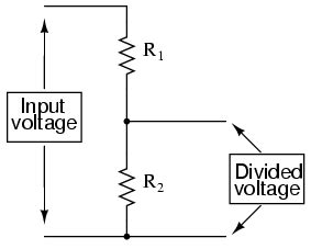 voltage divider resistors voltage divider circuits divider circuits and kirchhoff s laws electronics textbook