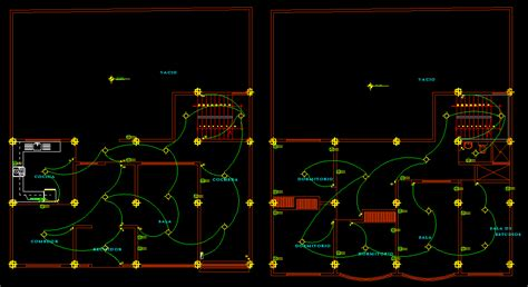 electrical layout plan in autocad house 2d dwg full plan for autocad designs cad