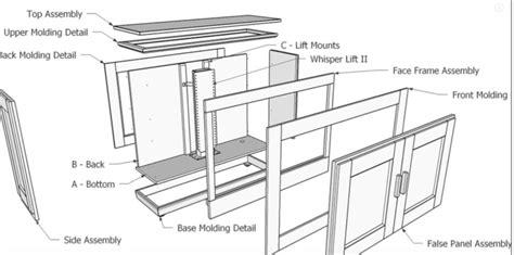 tv lift cabinet design tv lift cabinet free design plans jon peters