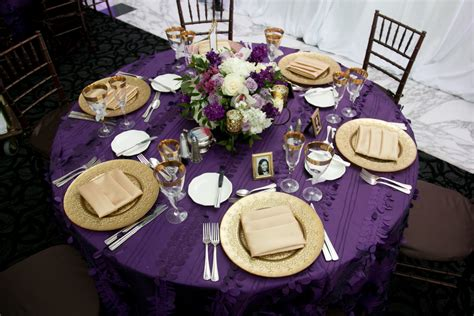 purple and gold table decorations 14 purple green gold wedding significant events of