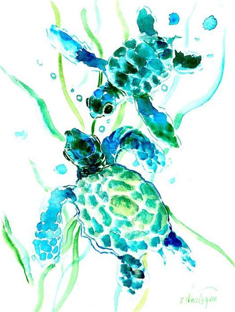 sea turtle ls sea turtle print sea turtle art nautical beach house
