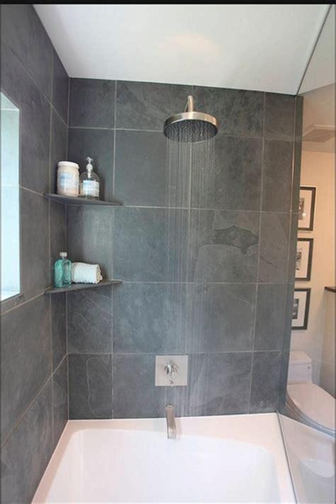 Tile Corner Shower Shelf by Shower With 2 Tile Corner Shelves Bathrooms