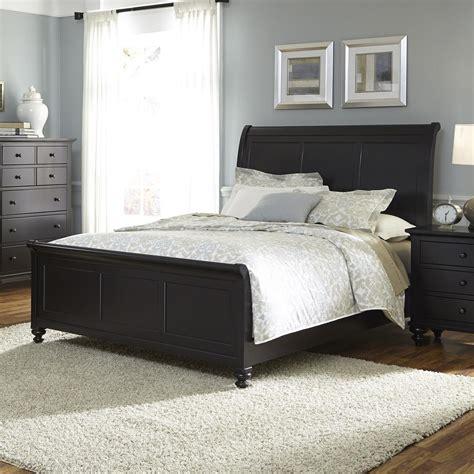 sleigh bed headboard only liberty furniture hamilton iii transitional king sleigh