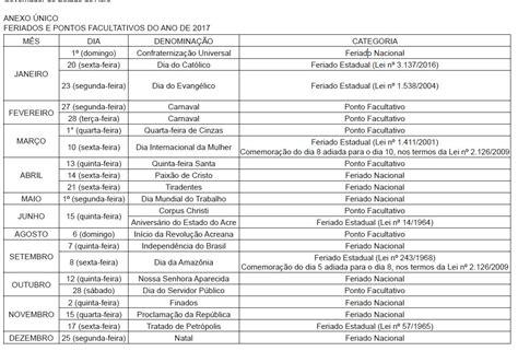 Calendario 2017 Feriados De Janeiro Calendario 2017 Feriados Rj