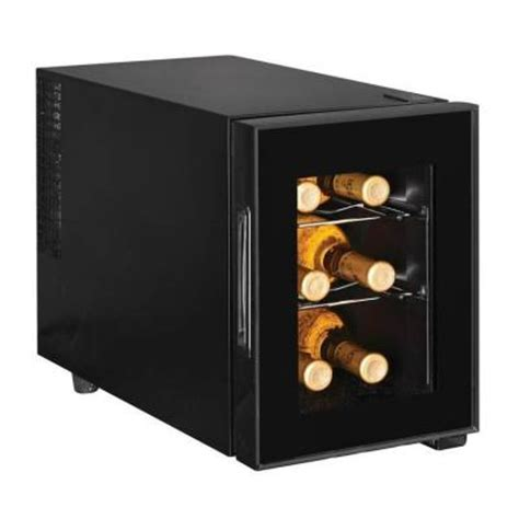 magic chef 6 bottle wine cooler mcwc6b the home depot