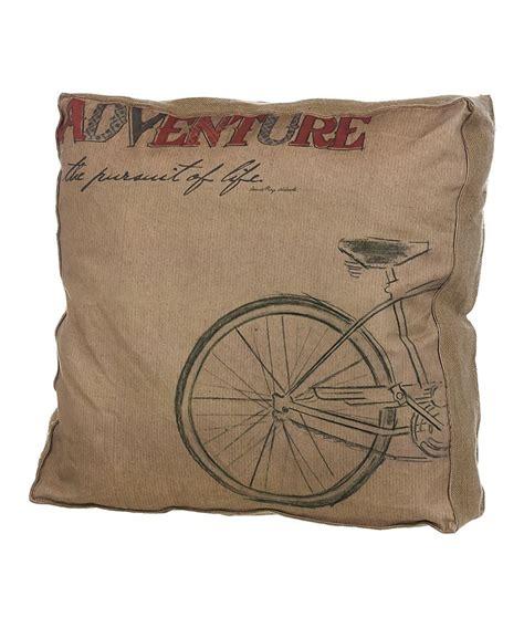 Adventure Pillow by Bike Adventure Pillow Diy Crafts