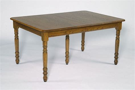 amish rectangular dining table