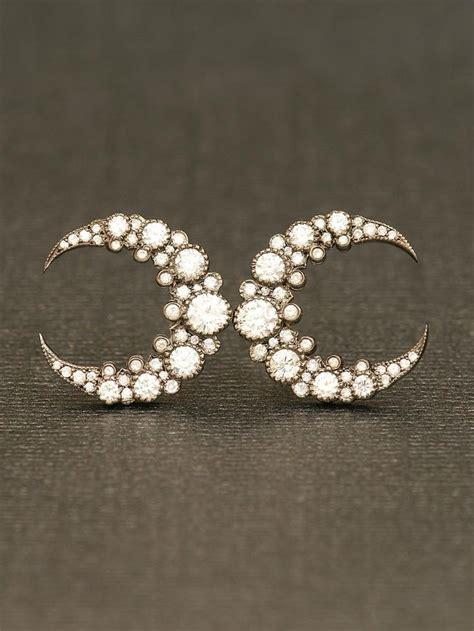 moon earrings pin by emily tu on accessories hair
