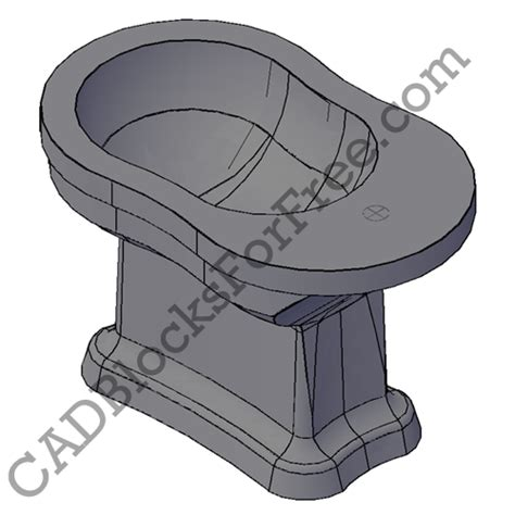 bidet cad block cadblocksforfree bidets uploaded