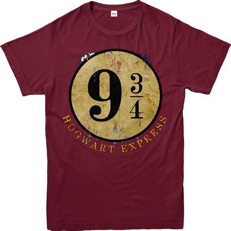 Kaos Harry Potter Harry Potter Platform 9 And 3 4 Graphics Lengan Panj harry potter t shirt platform 9 3 4 hogwarts express t