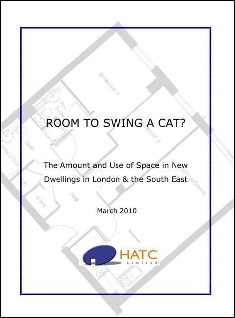 swing a cat room to swing a cat hatc