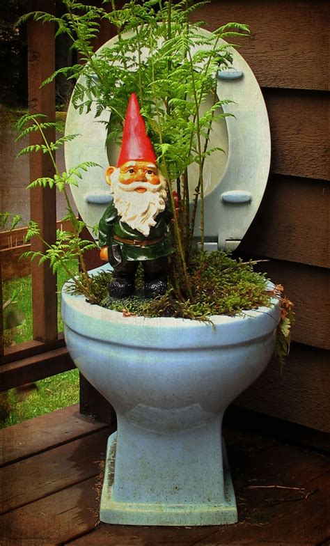 Gnome Planter by Toilet Planter W Gnome The Restore Can Help You Do This