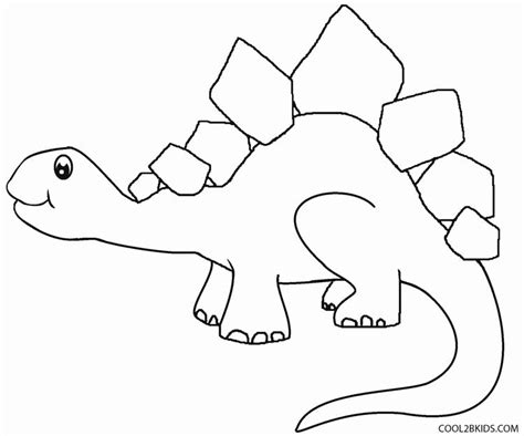Free Dinosaur Coloring Pages Preschool | printable dinosaur coloring pages for kids cool2bkids