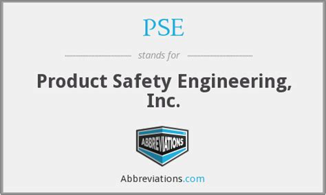 Product Safety Engineer by Pse Product Safety Engineering Inc