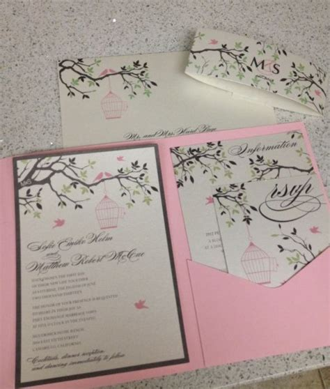 my gorgeous birdcage invitations are finally here