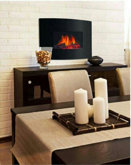 Electric Fireplace In Dining Room by Mounted Electric Fireplace In Formal Dining Room