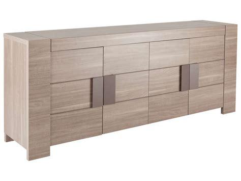 conforama meuble salon salle a manger buffet 4 portes atlanta coloris bois vente de buffet