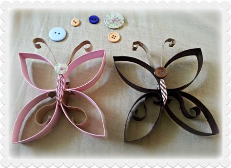 Crafts With Paper Towel Rolls - s craft spot paper towel roll butterflies
