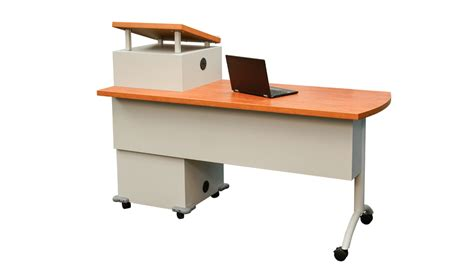 mobile desk with storage adelphia mobile podium desk datum