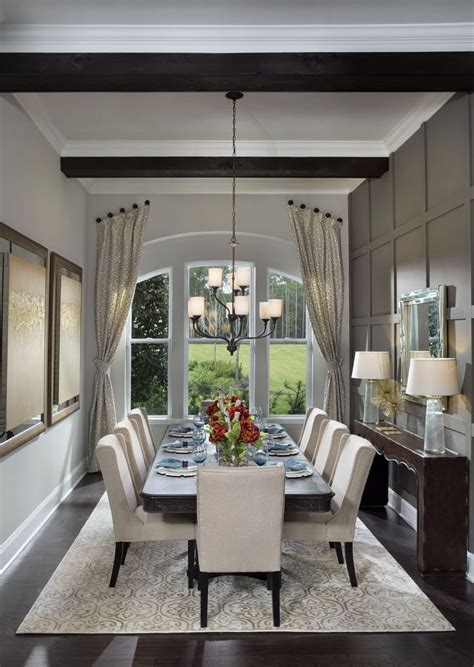 luxury homebuyers  dining room design home
