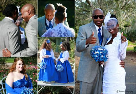 Royal Blue And Grey Wedding