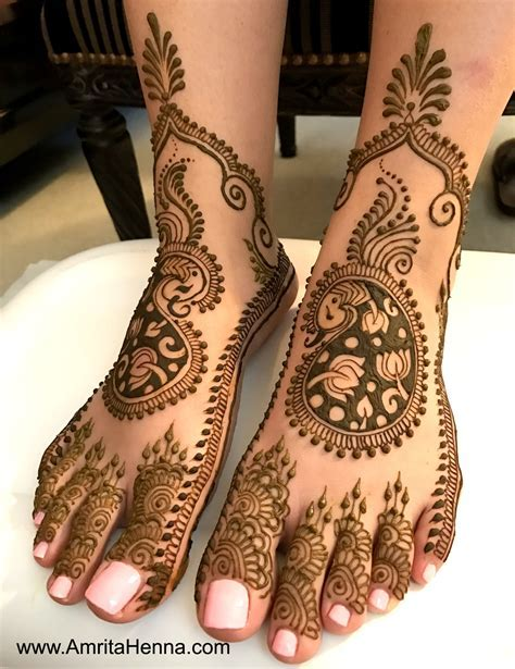 TOP 10 LATEST BRIDAL FEET HENNA DESIGNS   HENNA TATTOO
